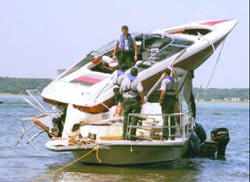 One nasty boating accident
